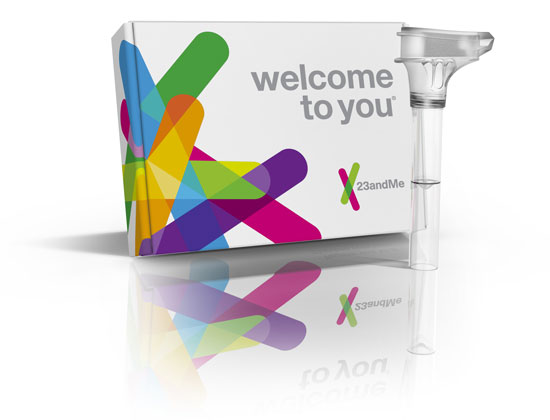 23andMe Kit - Taking a DNA test is no longer science fiction - Genetrainer